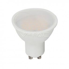 LED Spotlight SAMSUNG Chip GU10 5W Smooth Plastic 110° 6400K