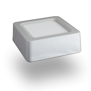 8W LED Surface Panel Downlight - Square Warm White