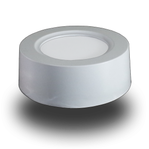 8W LED Surface Panel Downlight - Round Warm White