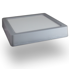 22W LED Surface Panel Downlight - Square 4500K