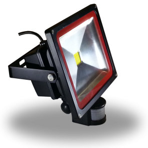 30W LED Floodlight V-TAC Sensor - Warm White