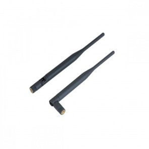 INDOOR ANTENNA 5dBi 2.4GHz BLACK with SMA Male Reverse (BASE AS-29)